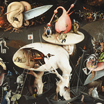 """The Garden of Earthly Delights"". Hieronymus Bosch, c.1500."