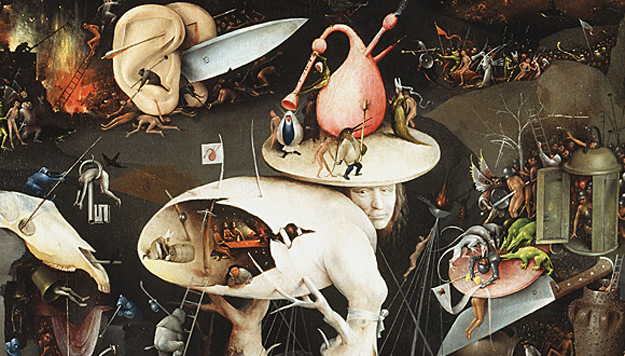 """The Garden of Earthly Delights"". Hieronymus Bosch, c.1500"