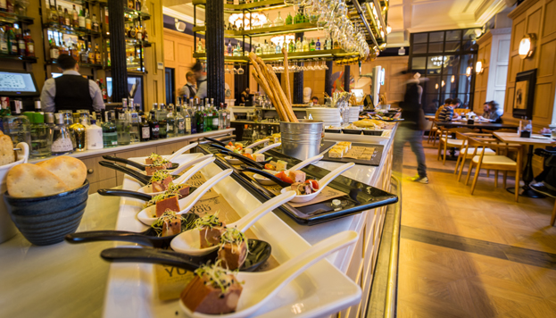 El Padrino at the Only You Boutique Hotel is a gastrobar that has a tavern feel about it.