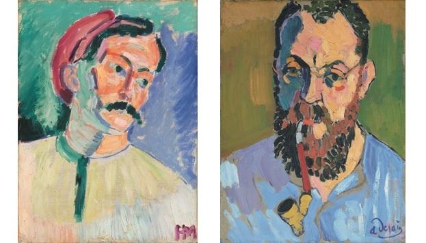 André Derain, 1905. © Succession H. Matisse. VEGAP, 2016. Henri Matisse, 1905. © André Derain. VEGAP, 2016.