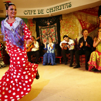 Café de Chinitas: flamenco in its essence