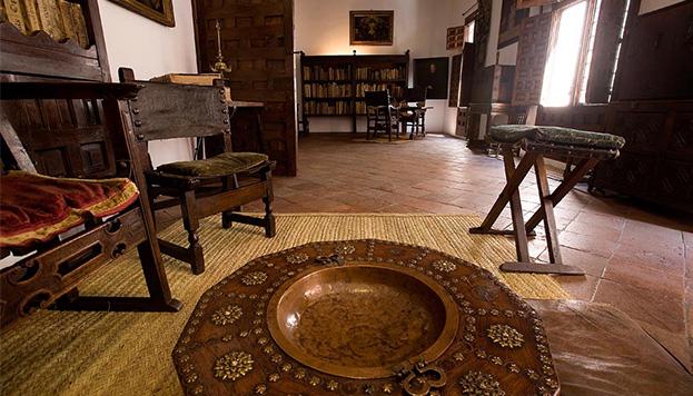 Lope de Vega House Museum. Studio