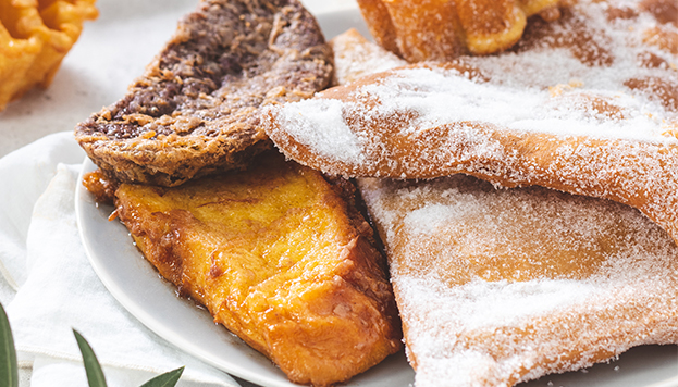 The first written reference to torrijas in Spain is from the 15th century. These ones are made by El Horno de San Onofre.