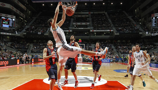 Mirotic. Real Madrid