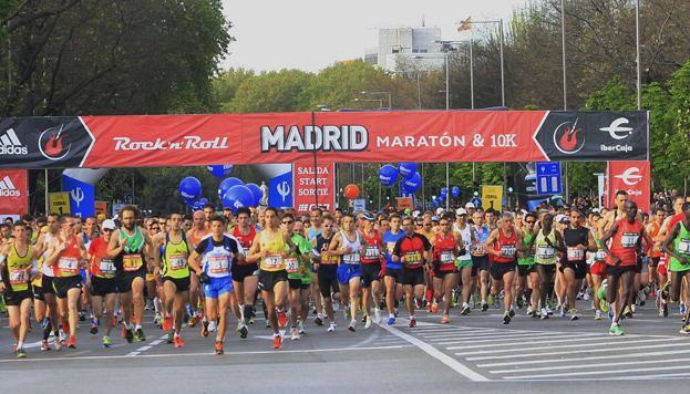 Rock 'n' Roll Maratón Madrid Maratón