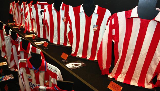 Camisetas. Museo del Atlético de Madrid
