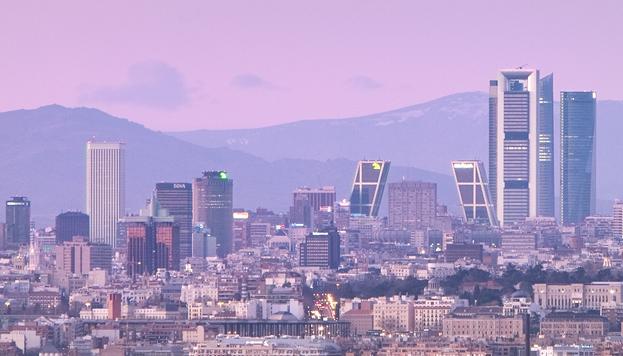 Madrid desde el Cerro de los Ángeles