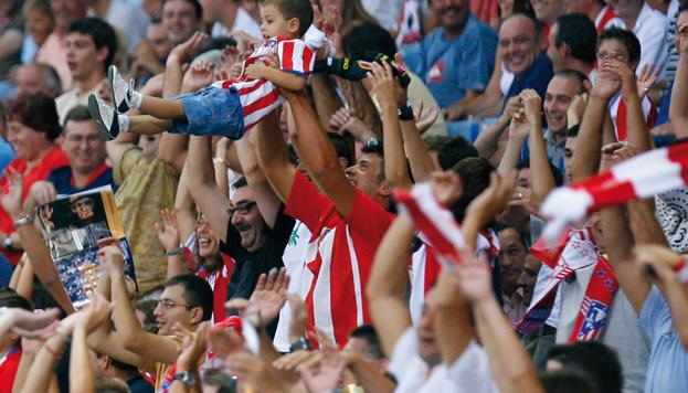 Atlético de Madrid fans