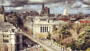 Panorámica desde el Mirador del Palacio de Cibeles
