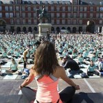 Yoga en la Plaza Mayor