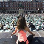Yoga en la Plaza Mayor