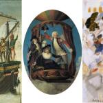 Tres viajes en el Paseo del Arte