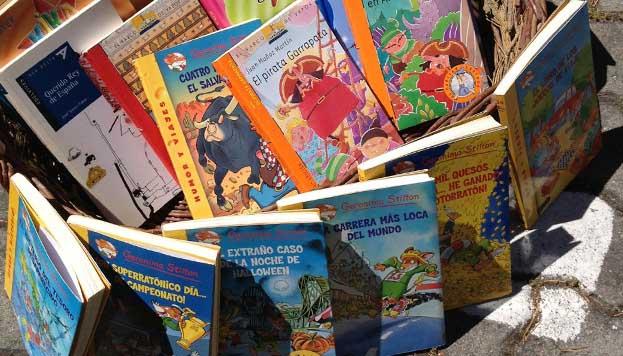 Libros infantiles en el Mercado de Motores