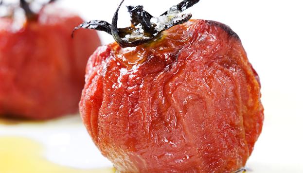 Tomates semisecos con aceite de oliva