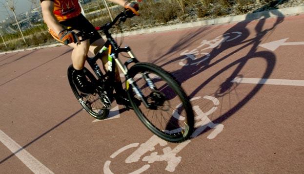 De ruta en bicicleta