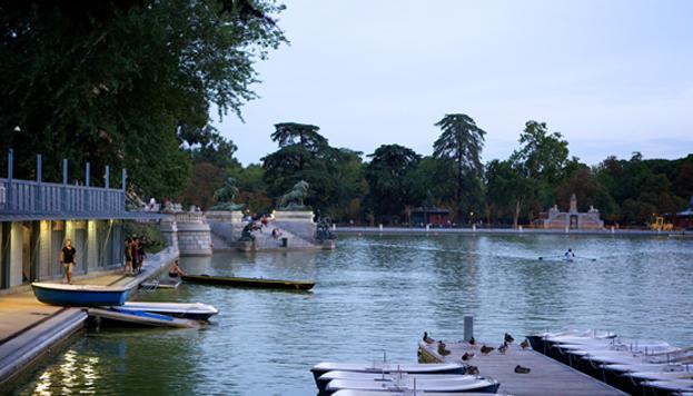 Embarcadero del Parque de El Retiro (Foto: Madrid Destino)