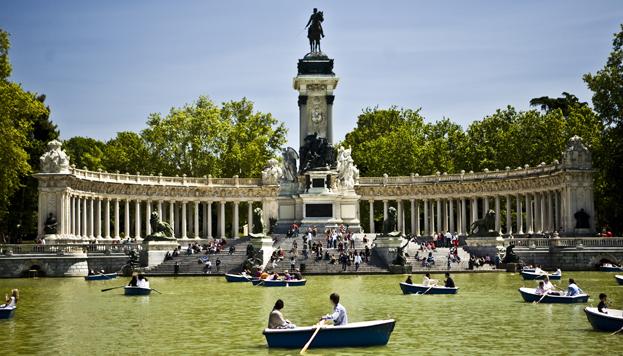 Estanque del Parque de El Retiro (Foto: Madrid Destino)