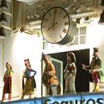 Reloj de Groupama (©Madrid Destino)