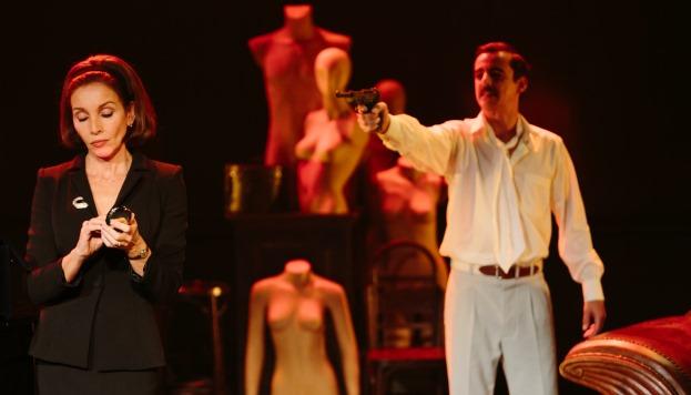 Ana Belén y Jorge Basanta en un momento de la función
