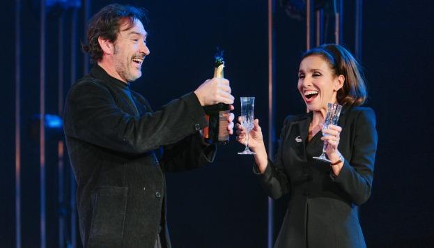 Ana Belén y Ginéz García Millán en Kathie y el hipopótamo.