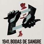 1941. BODAS DE SANGRE. Cartel.