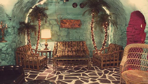 El Coconut Bar tiene una decoración espectacular