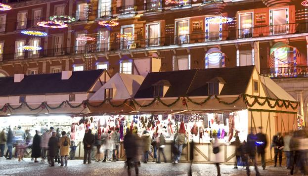 Mercado de Navidad de la Plaza Mayor (©Paolo Giocoso, MD)