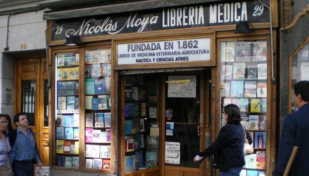 Librería Nicolás Moya