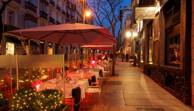 Alkalde lleva cincuenta años siendo uno de los restaurantes preferidos por los madrileños.