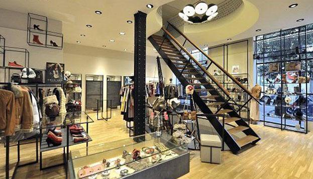 Doble AA es un inmenso loft acristalado, perfecto para fashionistas.