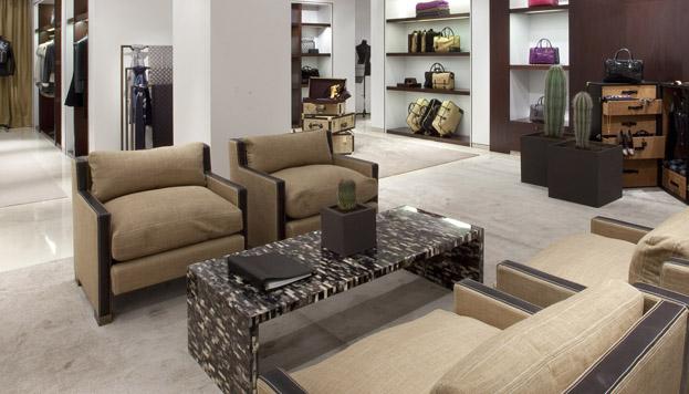 Interior de Loewe, todo un referente de estilo en Madrid.