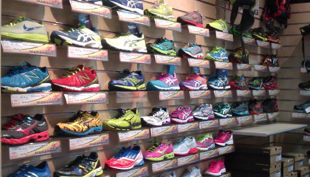 Los corredores más expertos encontrarán sus zapatillas en Marathínez