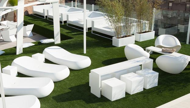 La Terraza del Gymage se ha convertido en uno de los sitios de moda