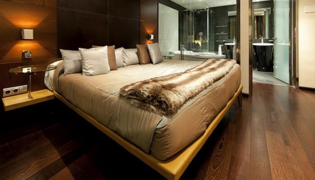 En las habitaciones del Hotel Urban se puede conseguir el relax más absoluto.