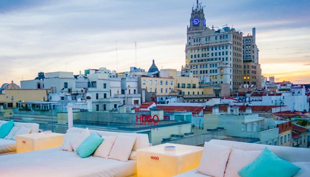 Las puestas de sol en la terraza del Hotel Óscar Room Mate son espectaculares.