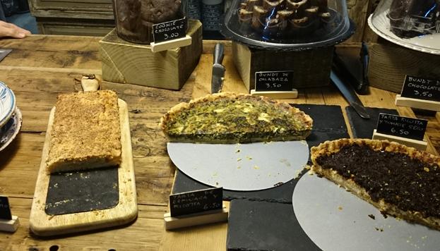 Casi todo lo que ofrecen en Il Tavolo Verde es de origen orgánico.
