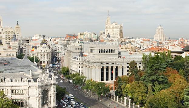 Hay que coger altura para descubrir las muchas posibilidades de ocio que tiene Madrid  (Foto: ©José Barea, MD)