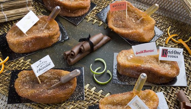 Esta espectacular colección de torrijas es lo que nos proponen las pastelerías Vait.