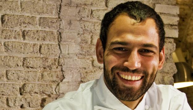Darío Barrio, en su restaurante Dassa Bassa.