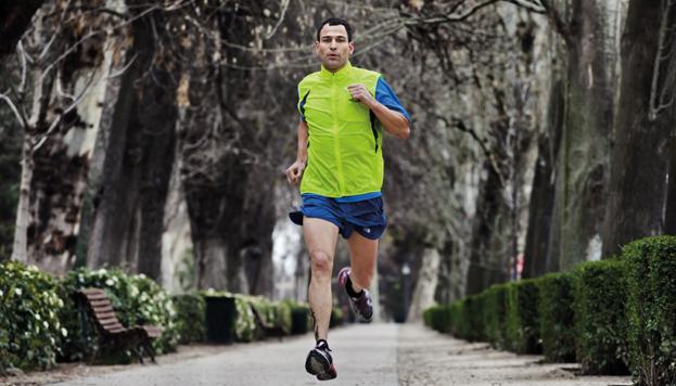 A Darío Barrio le gustaba mucho correr. Entrenaba en el parque de El Retiro.
