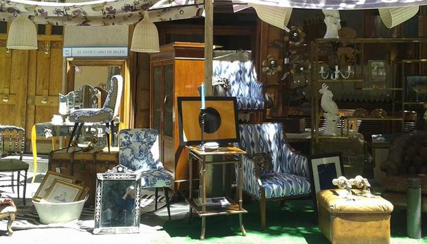 El Anticuario de Belén y Colección Privada participan juntos en DecorAccion (hasta el domingo 8 en el Barrio de las Letras).