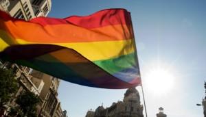 Bandera del Arco Iris en Madrid 623x356