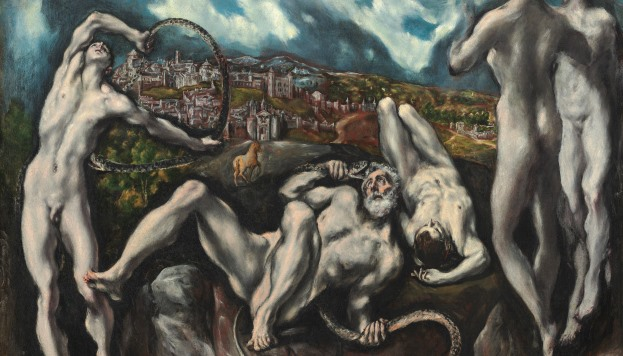 Laoconte (c. 1610 - 1614). El Greco.
