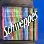 Anuncio luminoso de Schweppes, en la Gran Vía (©José Barea, MD).
