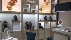 La tienda de Elena C, en pleno Barrio de Salamanca, transmite la filosofía de la firma en su decoración.