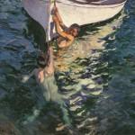 El bote blanco. 300x300