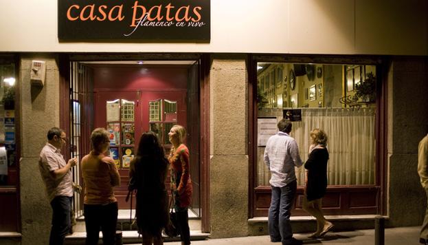 Madrid es la capital mundial del flamenco. Y Casa Patas, uno de sus grandes referentes.