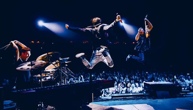 La banda irlandesa The Script toca en día 31 de marzo en el Barclaycard Center.