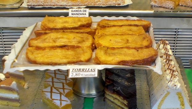 Irresistibles. Así son las torrijas de leche clásicas de La Mallorquina, en la Puerta del Sol.