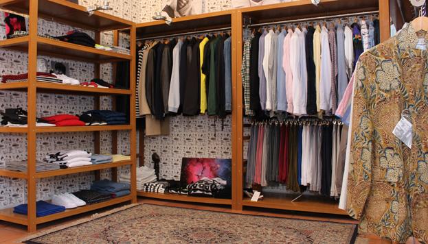 Tienda de moda y sala de música. Todo en uno en Mini, en pleno barrio de Conde Duque.